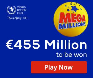 US MegaMillions Bet 1 Get 1 Free