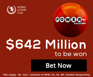 US Powerball Bet 1 Get 1 Bonus Bet
