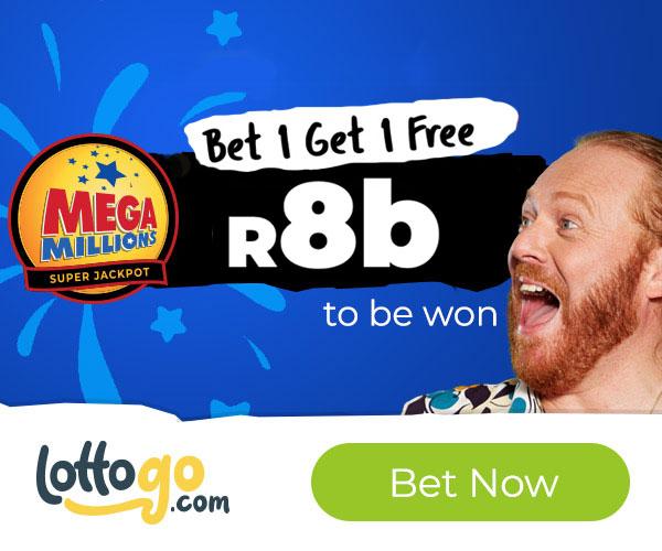 MegaMillions Super Jackpot Bet 1 Get 1 Free