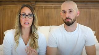 Myka and James Stauffer produced films about their family life on YouTube and Instagram