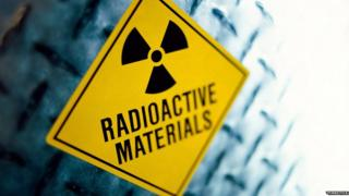 Generic radiation sign
